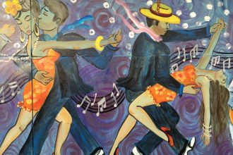 Dance Mural Brownsville